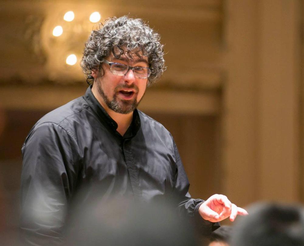 Conductor Allen Tinkham © Jon Hillenbrand  Photography