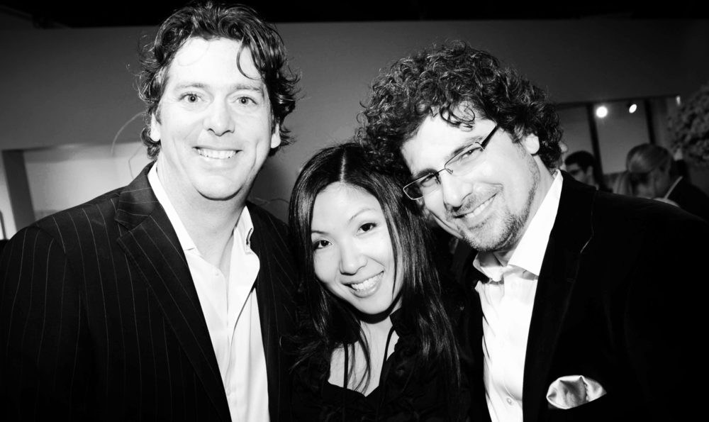 Kevin McConkey, Josephine Lee, & Allen Tinkham LuxeHome CHILL Wine & Culinary Event Benefiting CYSO