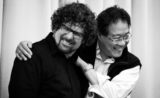 Conductor Allen Tinkham & Cellist Yo-Yo Ma © Ed Spinelli   Photography