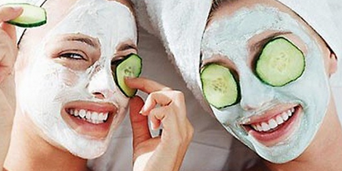 Fresh Cucumbers help with dark circles puffiness, and tired eyes.