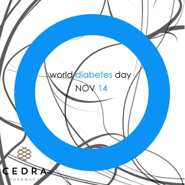 Today is World Diabetes Day #wdd and we are conducting free blood glucose tests at all Cedra locations.  If current trends continue 1 in 3 Americans will develop diabetes in their lifetime.  If you have diabetes, are curious about the best ways to prevent it, or just want more information, Cedra is here for you.