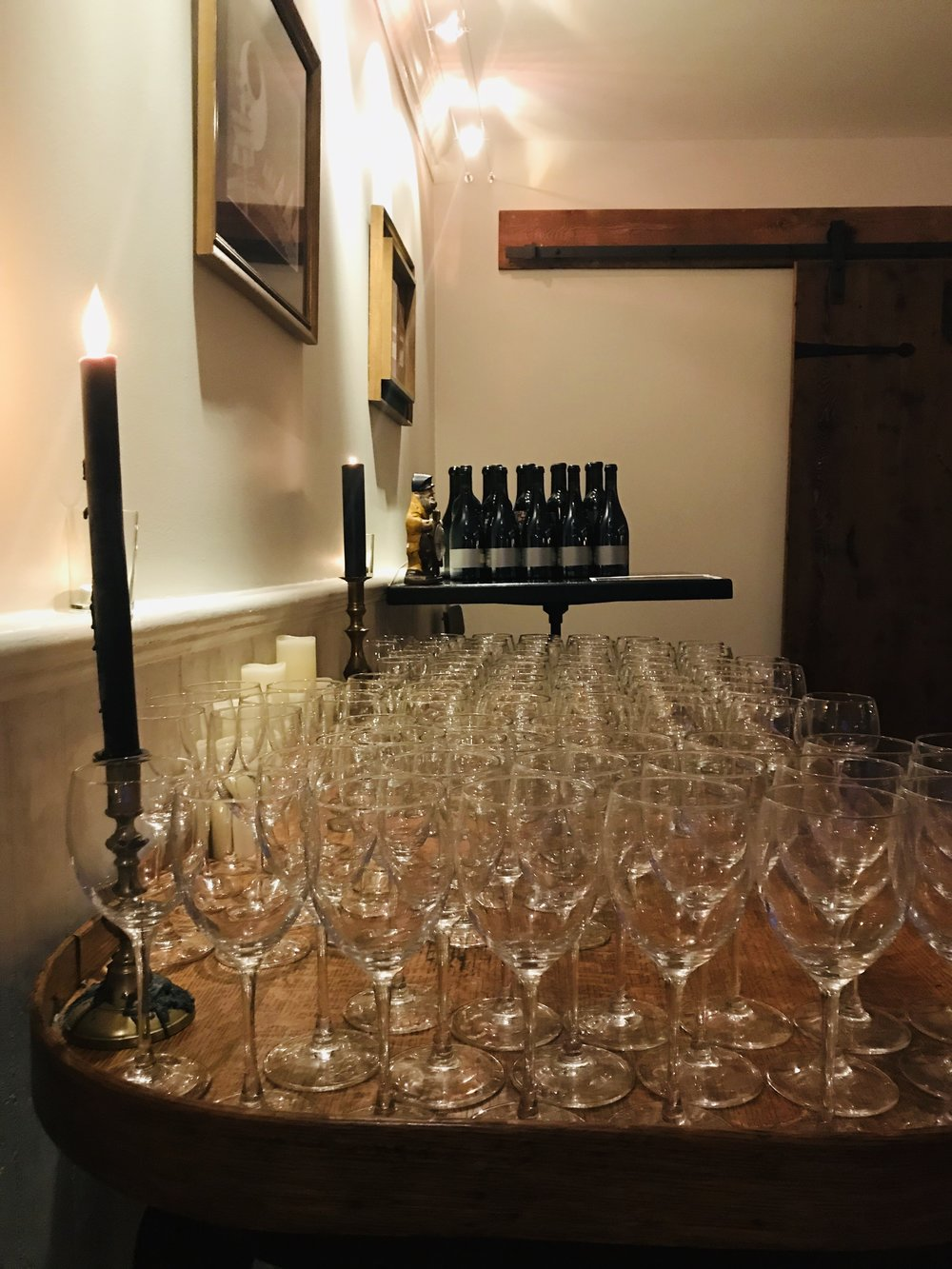 We raise a glass and say a big thanks to Brittany, Molly, Empire Merchants North, our dinner guests, and staff for an incredible evening.