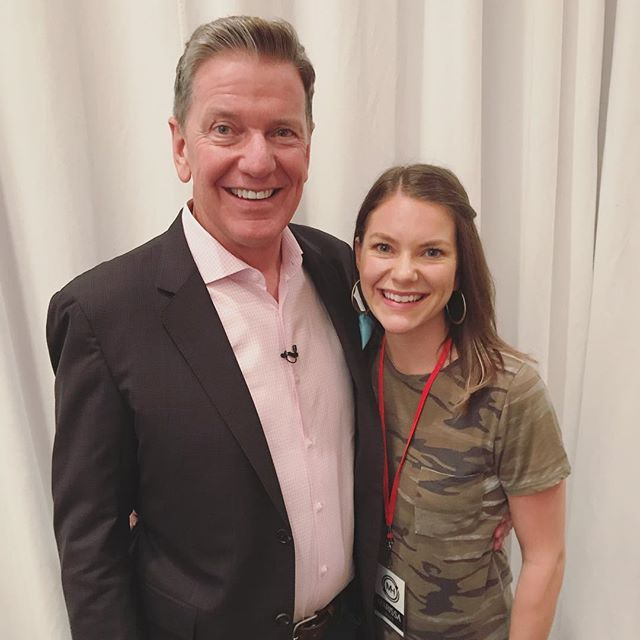 This guy right here is the freaking real deal. He's my dad, so I might be a little biased. 😉 But truly, I am blown away by him. . For the last couple days I've been attending his #freetofocus live event and it's been incredible to get to see him do what he does—help successful people become more successful in their professional lives AND their personal lives. He helps you learn how to achieve more by doing less. And while it all sounds amazing on paper, he is living proof of this stuff! . I went in kind of skeptical, but I have been truly awestruck. He cares deeply about the people he coaches and is a catalyst for their transformation. As a new coach myself, I hope to be 1/2 the coach and leader he is. I hope to INSPIRE people like he does. I hope to give HOPE to people and VISION for what's POSSIBLE! . Believe me, I know I'm crazy lucky! Not only do I get to know him but I get to call him Dad. . Dad, thanks for encouraging me daily to peruse my dreams, investing time in me and my growth, and loving me well! I love YOU!!! 💕 . . . . #productivity #entrepreneur #growthmindset #delegate #achievers #achieveyourdreams #leadership #todolist