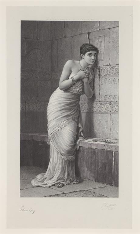 Thisbe  by Edwin Long (1885)