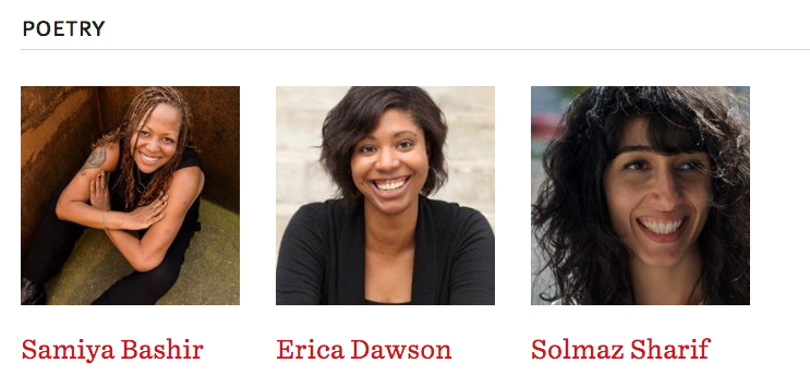 Join Samiya Bashir, Solmaz Sharif, and Erica Dawson to write poetry by the sea this winter!