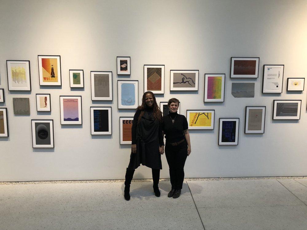 Samiya Bashir (Poetry Salon @ Reed College) & Daniela del Mar (Letra Chueca Press)