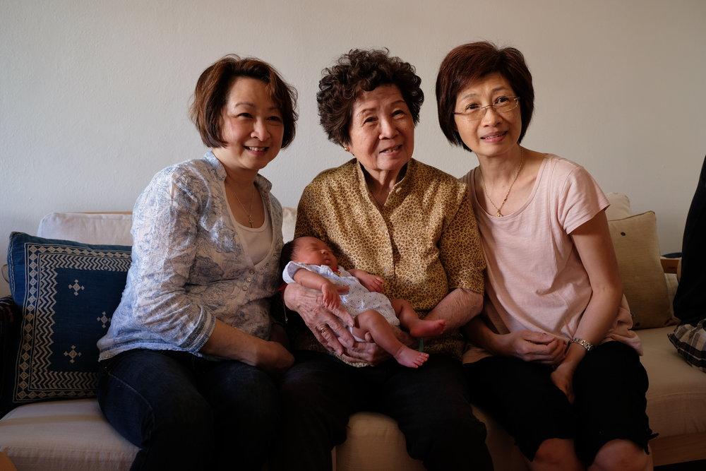 Mom, Waimea, 婆婆, & 姨姨, 2018