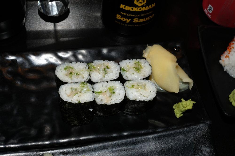 Negitoro Roll, 2018