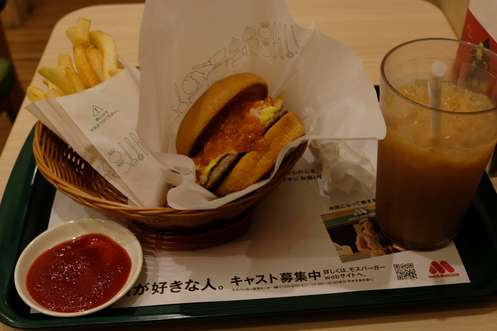 Mos Burger, 2018