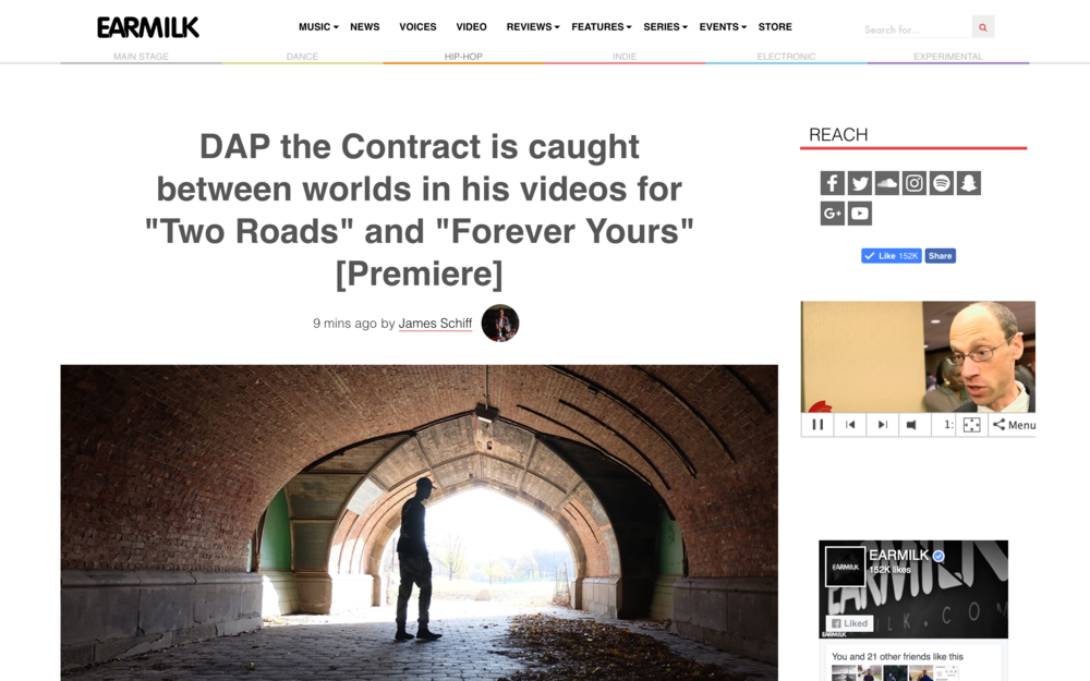 READ FULL ARTICLE HERE --} http://earmilk.com/2017/05/22/dap-the-contract-is-caught-between-worlds-in-his-videos-for-two-roads-and-forever-yours-premiere/