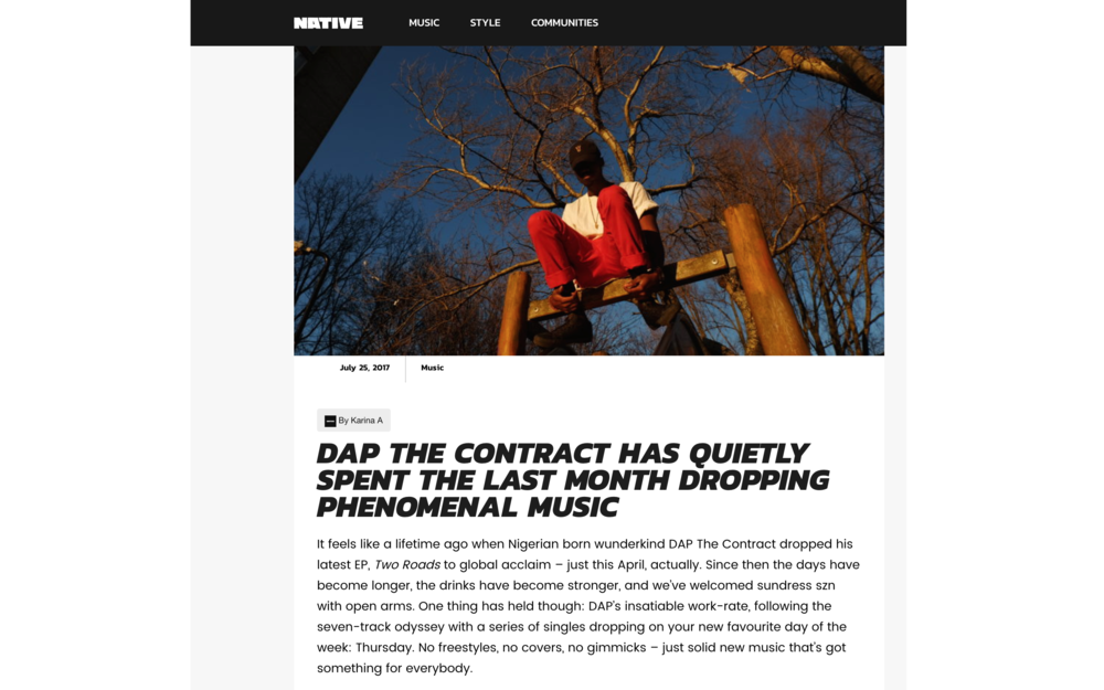 READ FULL ARTICLE HERE (Written by Karina So (@whatkarinasaid) --} http://thenativemag.com/music/dap-contract-quietly-spent-last-month-dropping-phenomenal-music/