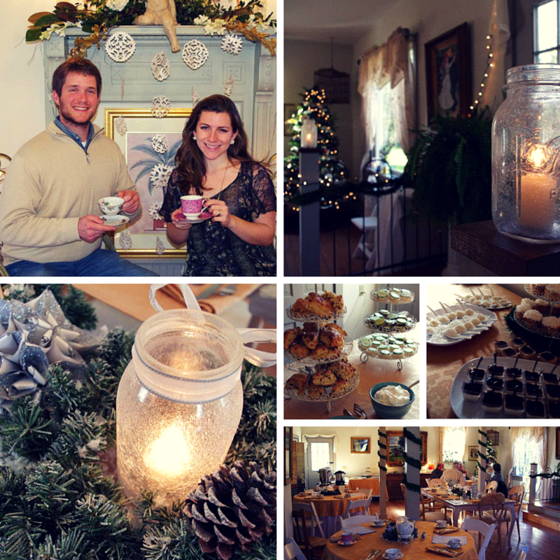 Winter Wonderland Tea in the Magnolia Room at Historic Jasmine Plantation. Photos by IES.