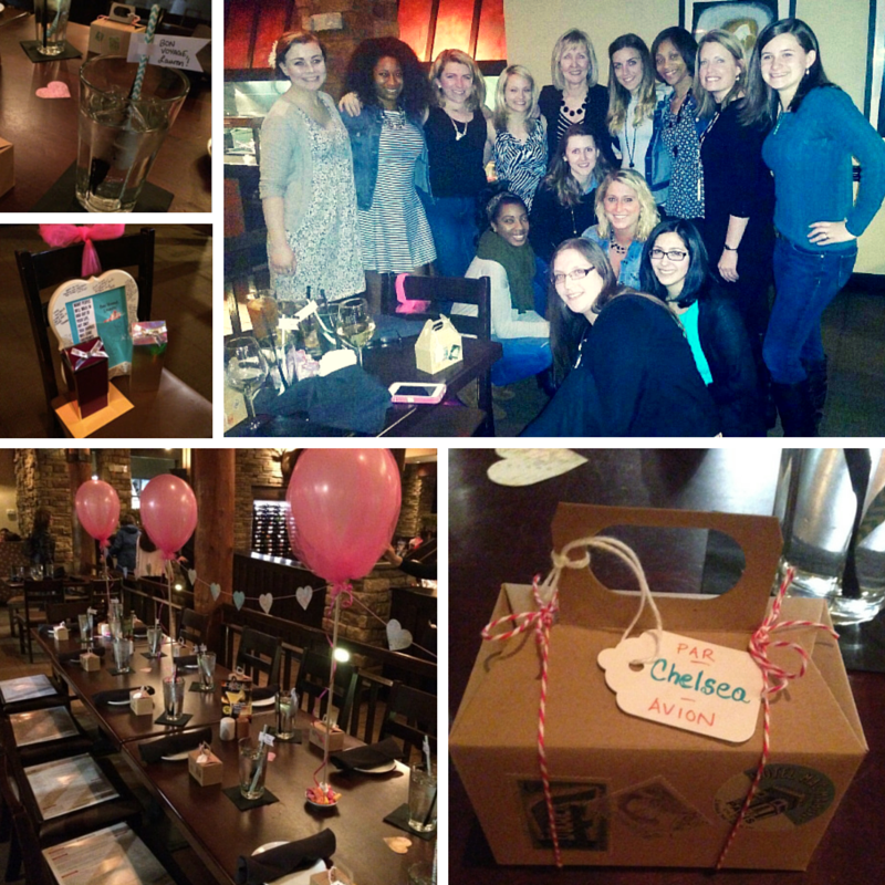 Bon Voyage Celebration for Lauren McCarthy at Firebirds in Short Pump, RVA. March 2015. Photos by IES.