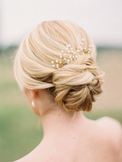 Blond Flower-ish Bun with Pearl Accessory.jpg