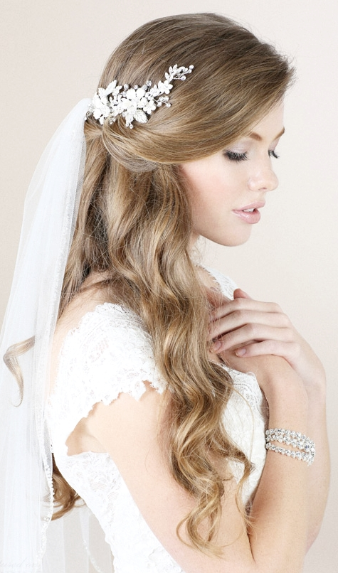 Long Wavy Wedding Hair with Veil.jpg