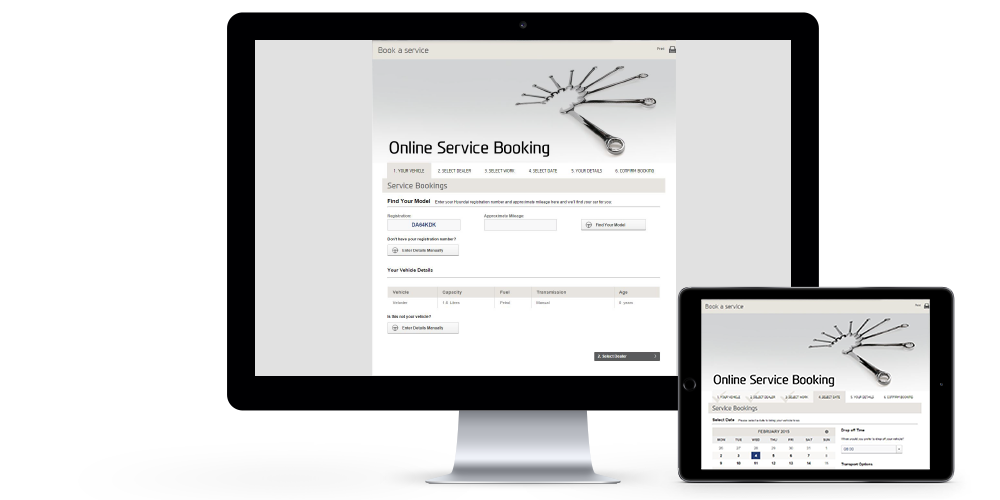 Online Booking Devices Image