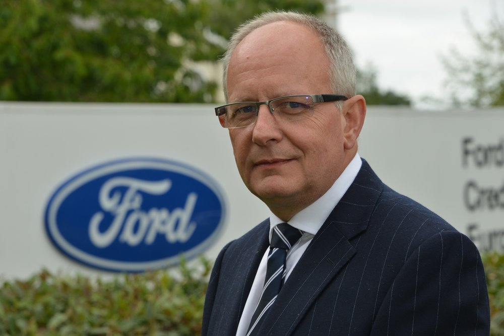 Andy Barratt, Chairman and Managing Director of Ford of Britain