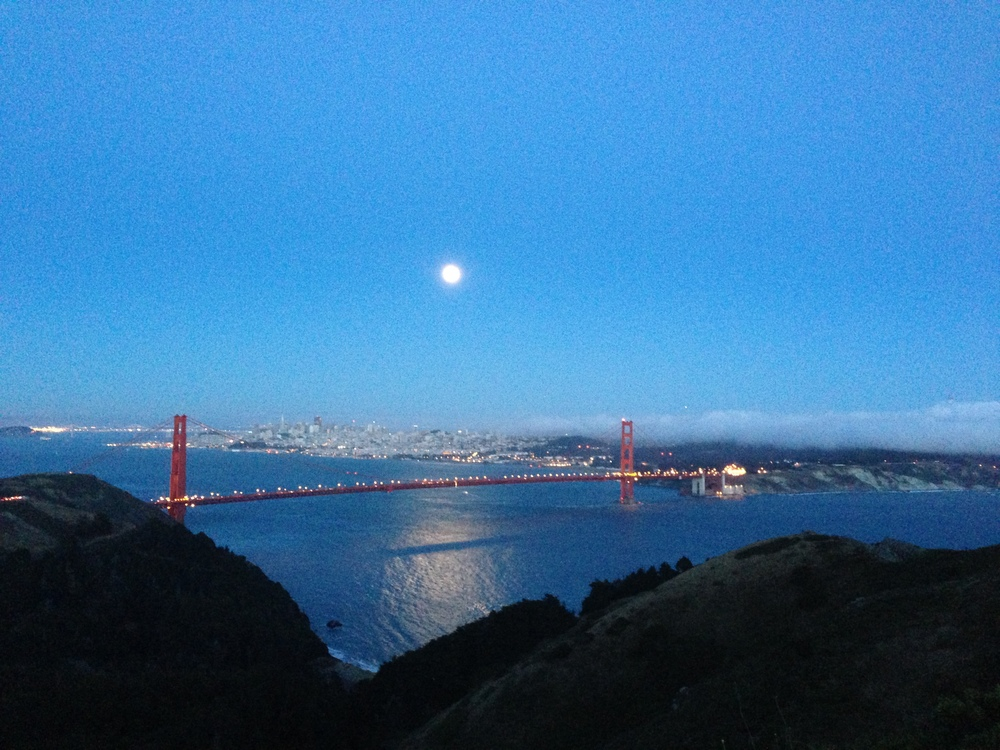 Early stages of the Super Moon