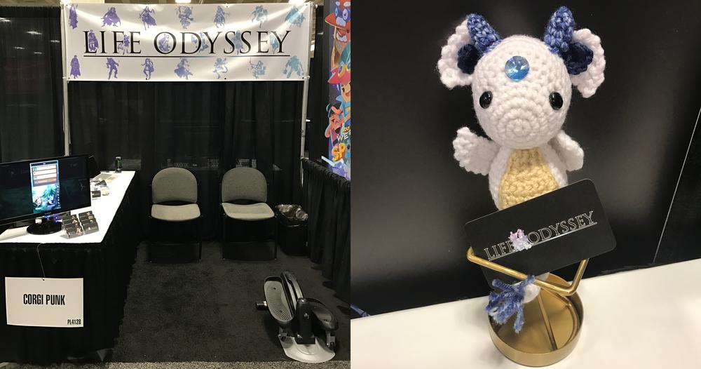 Life Odyssey - GDC Booth