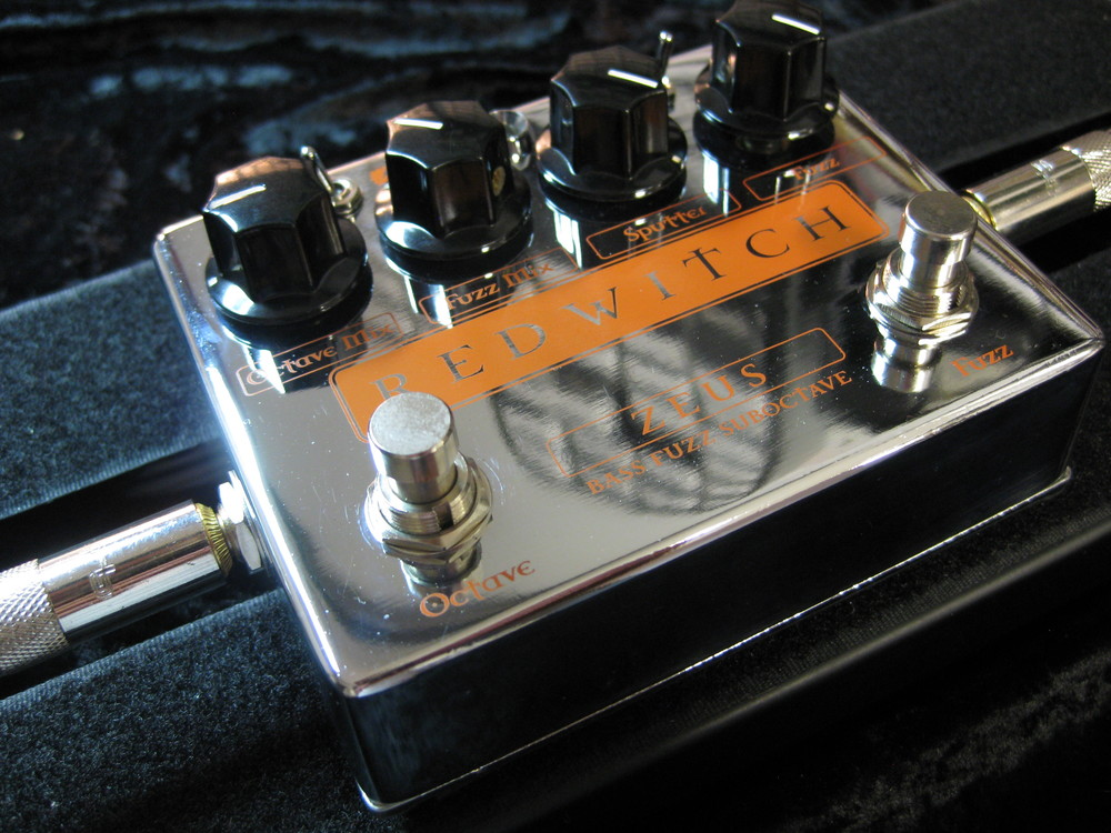 Fully developed and awaiting release in 2015, the Zeus Bass Suboctave Fuzz