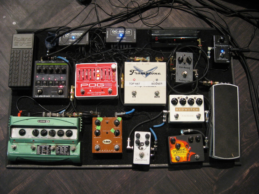 Sam Kearney - Alberta Cross Pedal Board