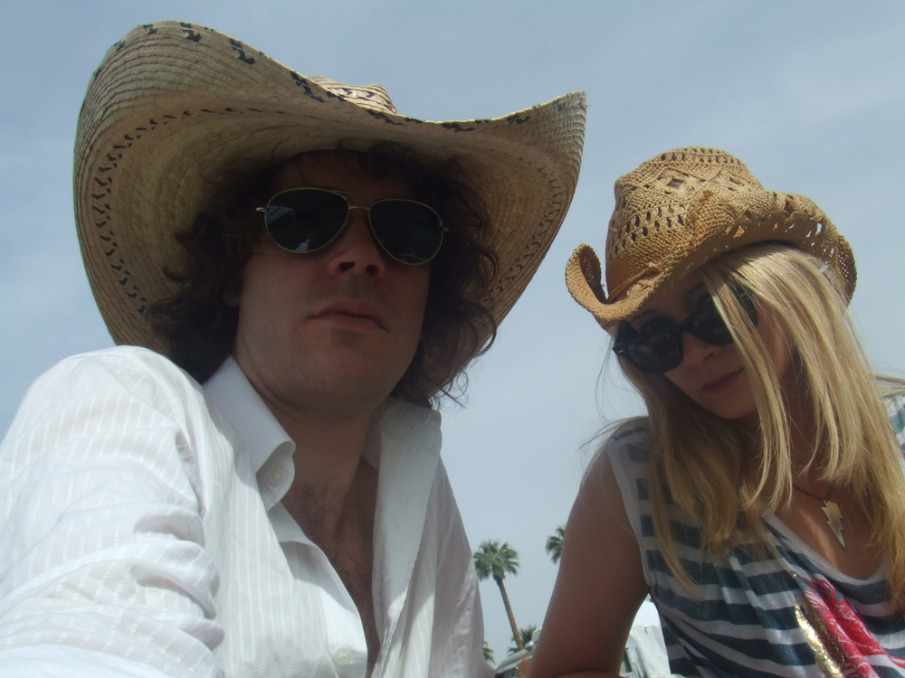 Ben & Saskia Hahn - guitarist for Peaches