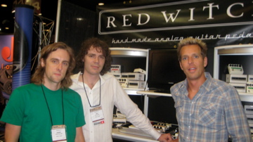 Carl Broemel - My Morning Jacket at the Red Witch NAMM stand