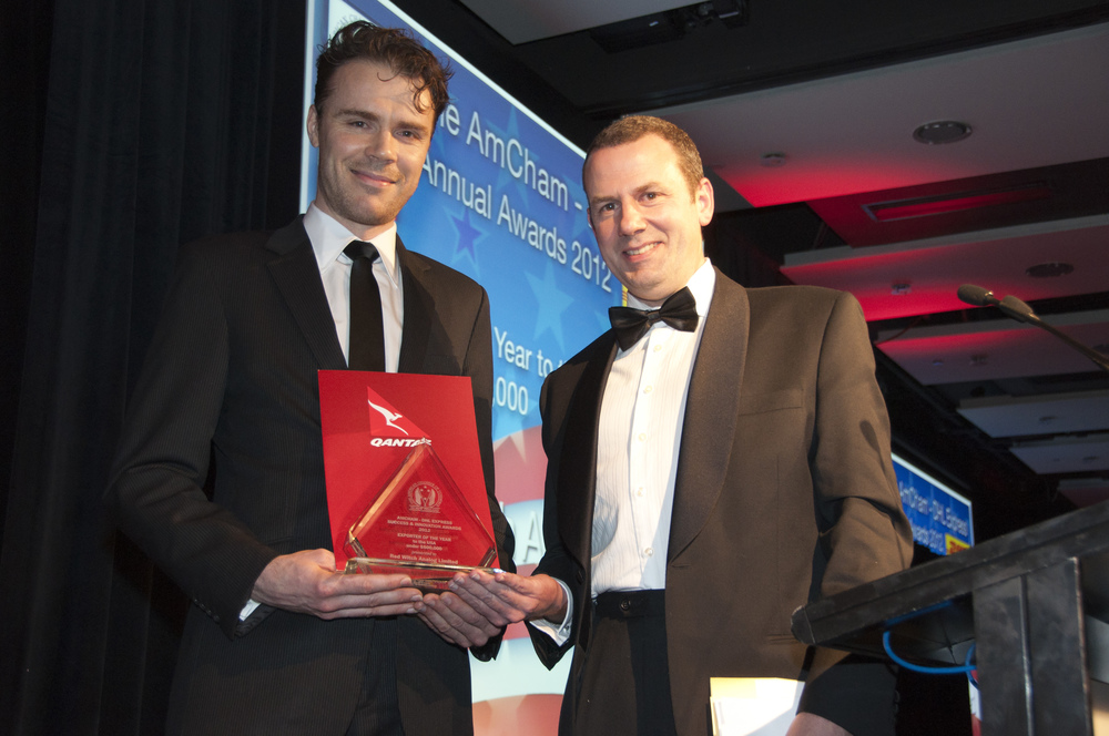 Amcham - Success and Innovation awards 2012 - Exporter of the Year to the USA under $500,000