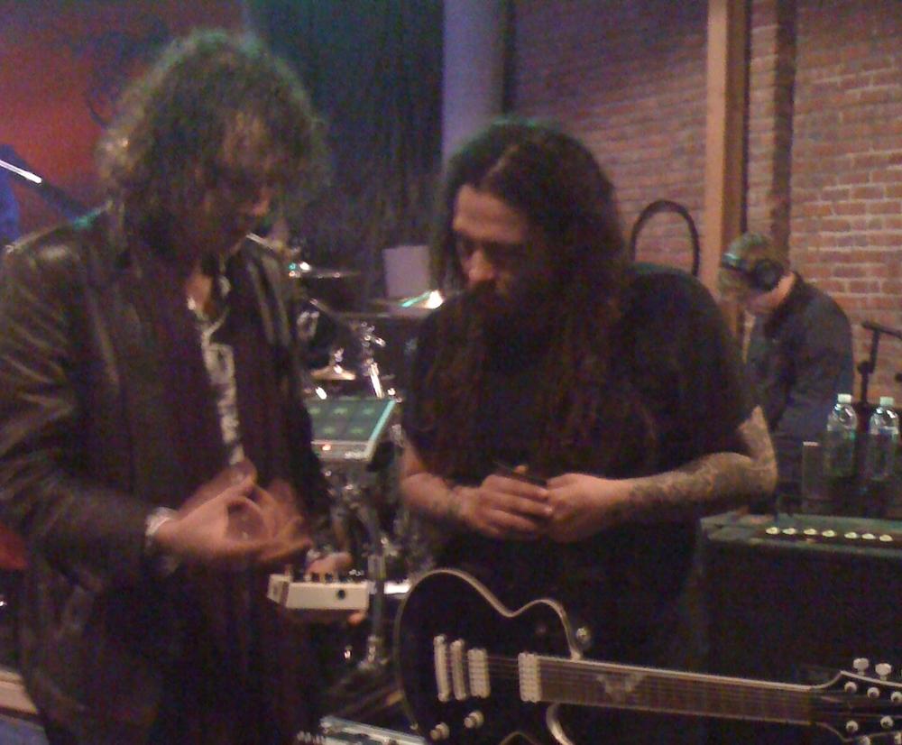 Ben & Munky from Korn talk Pedals