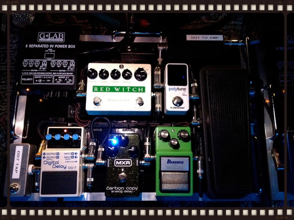 Melissa Etheridge - Pedalboard