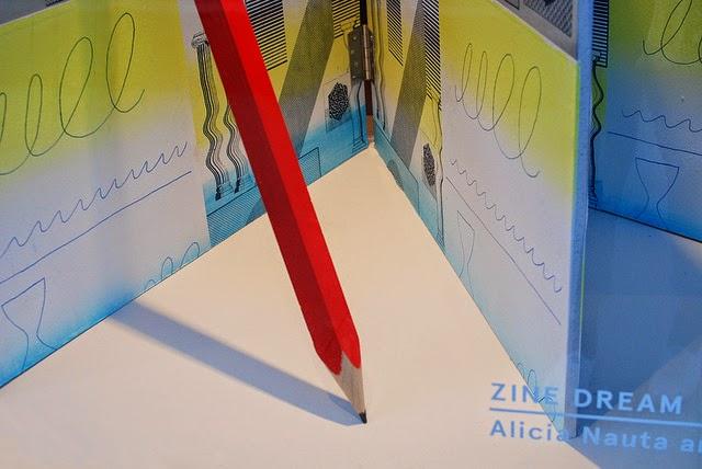 Zine Dream window detail  Eunice Luk and Alicia Nauta  Art Metropole