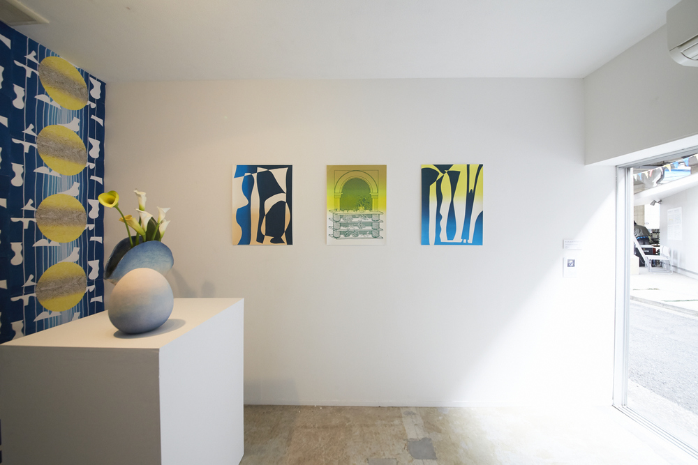 installation shot of 'Your only private part is your brain' exhibition at Koganecho Art Centre in Yokohama, Japan  collaboration with Eunice Luk  2016  photo by Yasuyuki Kasagi