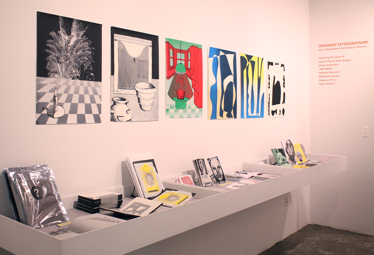 Ordinary Extraordinary: new independent publishing by women  books and prints  exhibition at Printed Matter, New York  2016