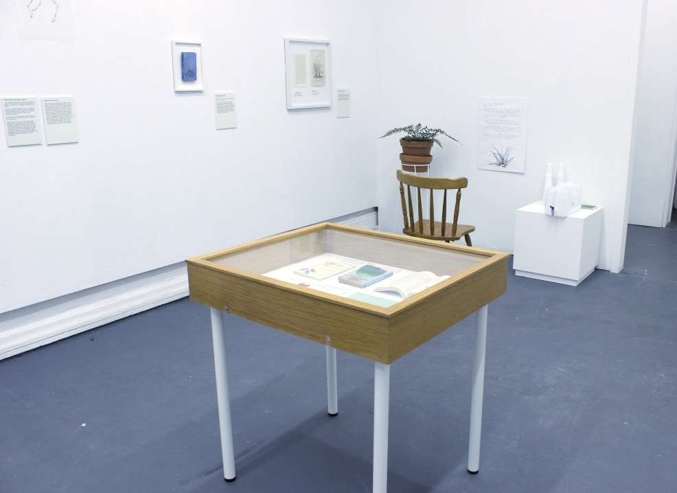 Herba morbus is a museum-style exhibition that explores the theme of plant intelligence. By displaying illustrations and artifacts from the field, Herba morbus  examines the ways in which we try to understand plants; and asks a question that eternally mystifies: What does a plant know? Examining the question from a scientific, pseudoscientific, mythological and art perspective, Herba morbus traces the idea of plant intelligence from its Aristotelian roots to the present day.  Catherine Polcz, 2016  Writing for the exhibition by Alicia Nauta, download  here