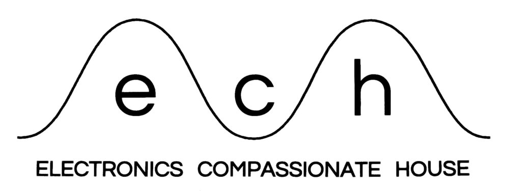 logo for Electronics Compassionate House  collaboration with Carl Didur  2016  Electronics Compassionate House  is an electronic instrument repair business dedicated to helping people keep their vintage equipment working. Carl Didur is a Certified Electronics Technician. Their motto is Don't throw it out!     echrepairs.com