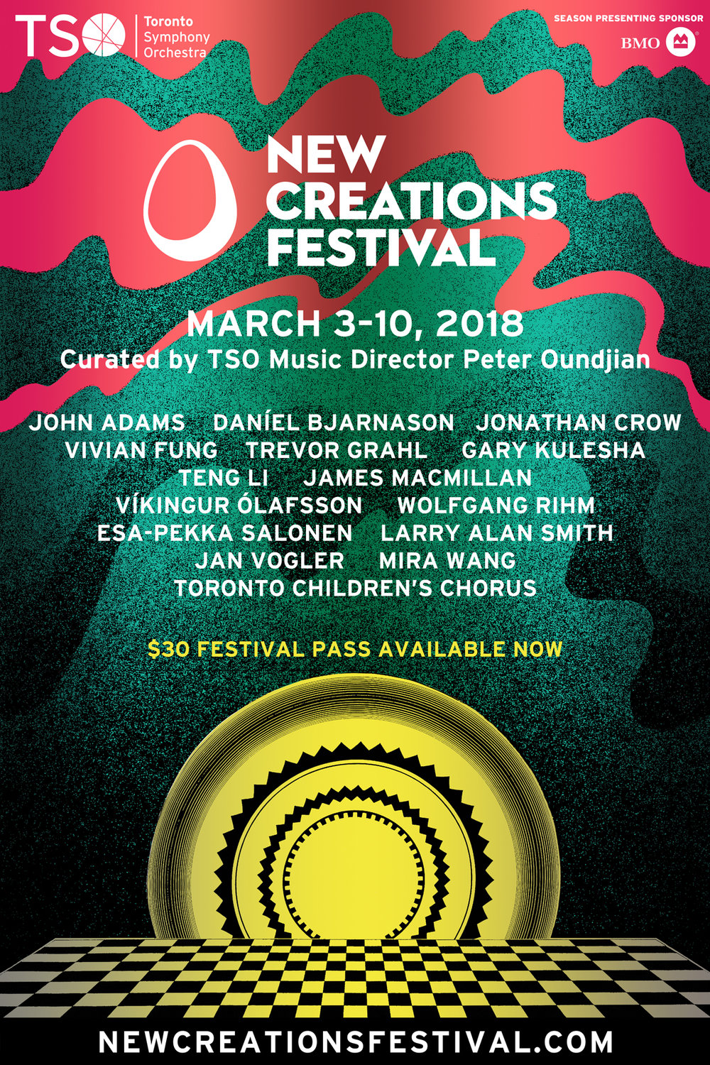 New Creations Festival 2018  Toronto Symphony Orchestra