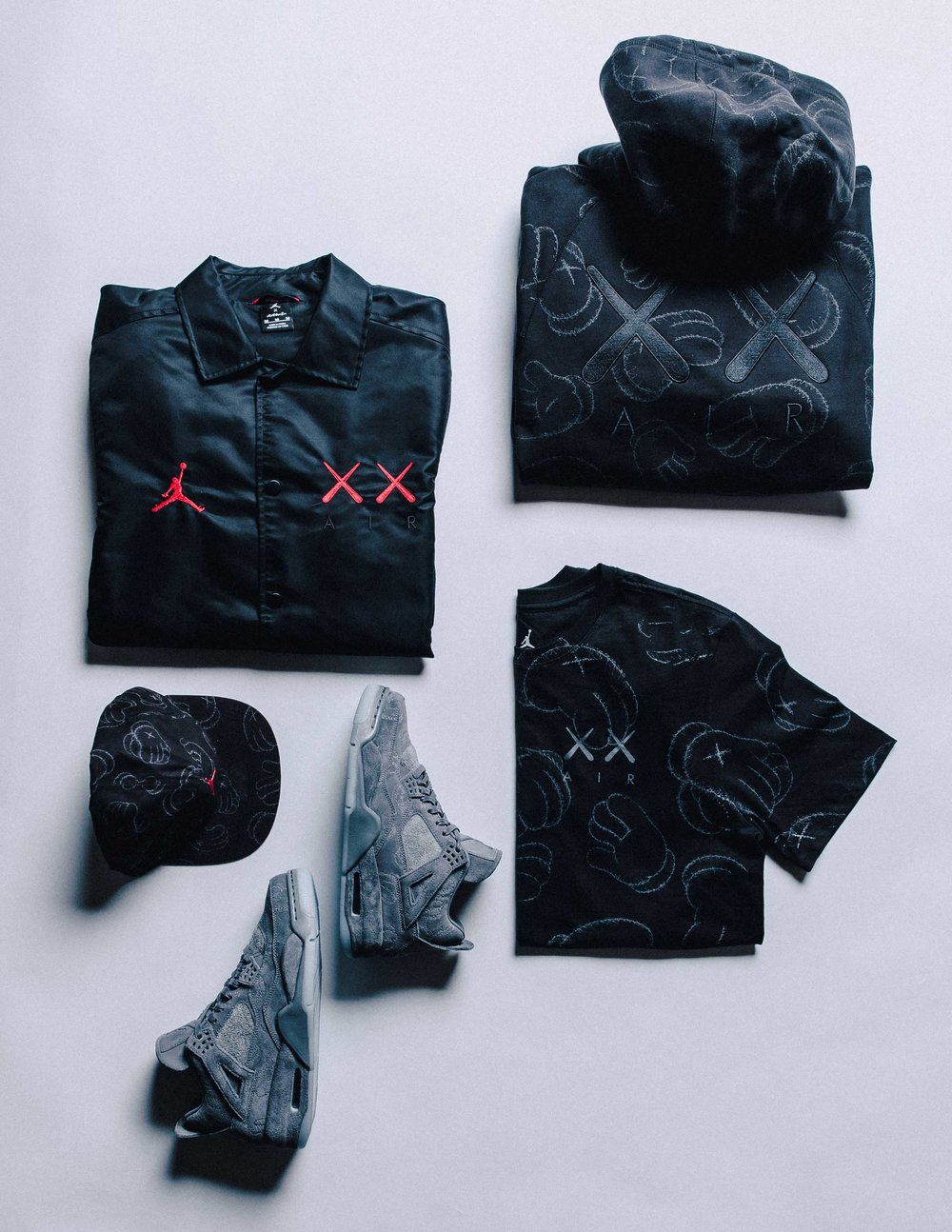 Clink link below items drop tomorrow 3/31/17!   https://air.jordan.com/card/jordan-x-kaws/