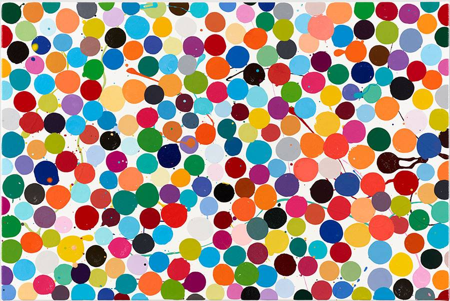 "Gagosian is pleased to present Damien Hirst's ""Colour Space Paintings,"" the first exhibition of the series in the United States, following their presentation earlier this year at Houghton Hall in England.  Friday 5/11/18 6-8pm 555 @ West 24th Street, New York, New York 10011"