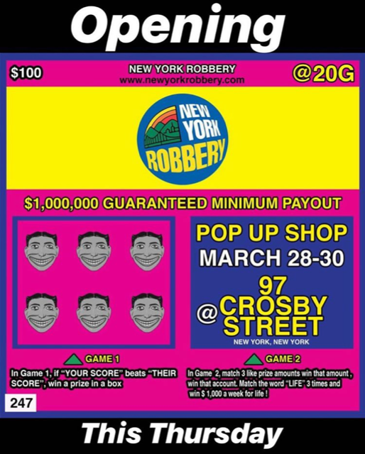 new york robbery