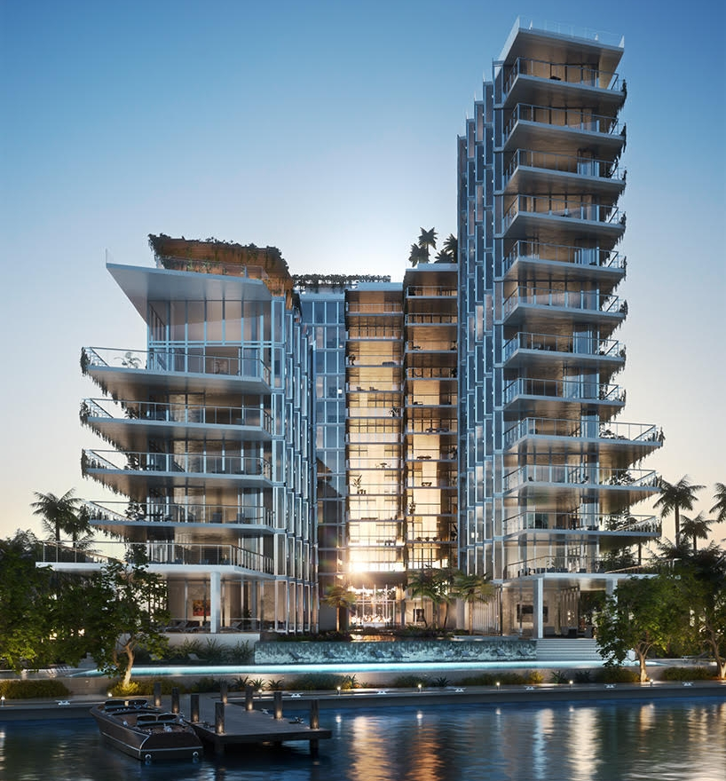Monad Terrace, South Beach Bay, Miami, Florida