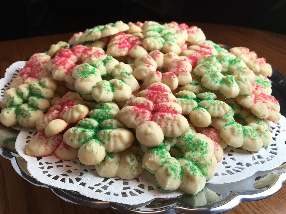 Granny's Spritz Cookies