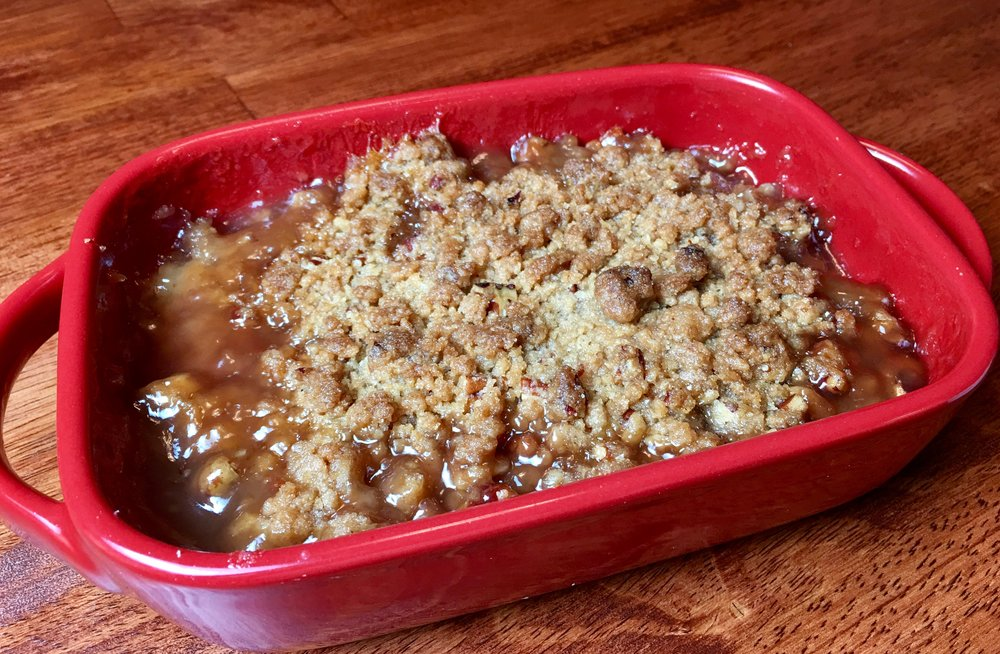 Pear Crumble for Two