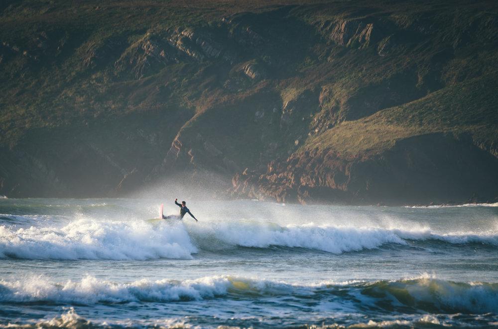 Pembrokeshire Surfer