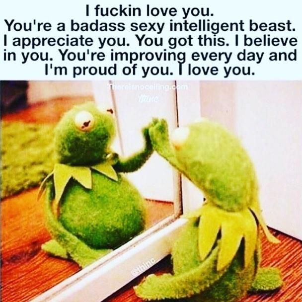 inspo 💚 #muppet #affirmations