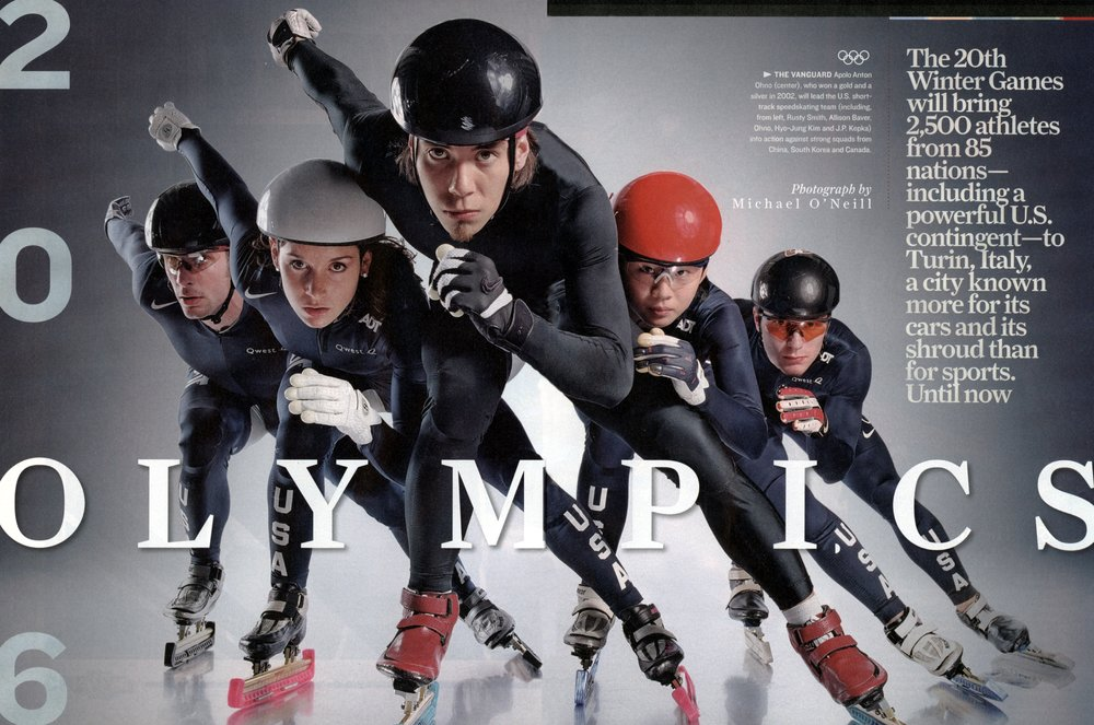 2 Sports Illustrated Feb Olympic Issue Center Fold.JPG