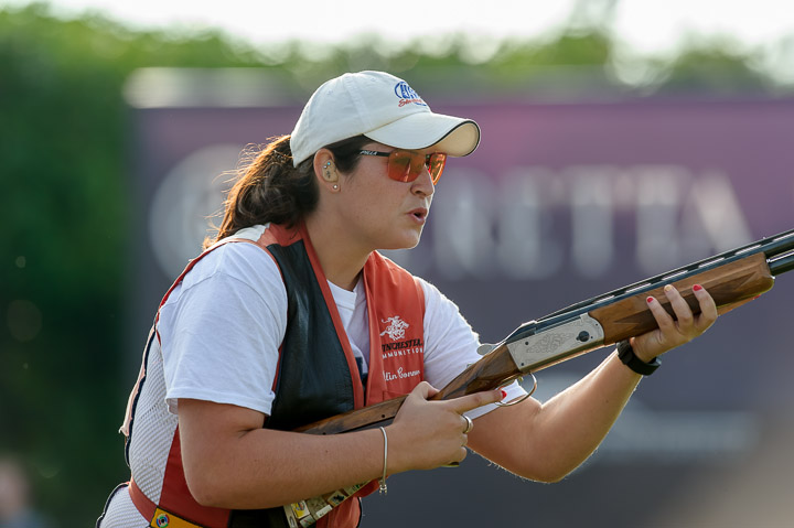 Caitlin Connor - Silver Medal at World Championship - Wears the Pilla 580 with prescriptive lenses.