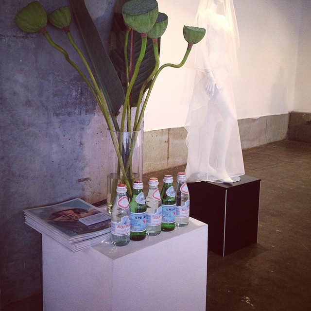 Concept to Creation fashion exhibition. #alexsiscstar #vamff #vamff2015 #sanpellegrino #birchboxflowers