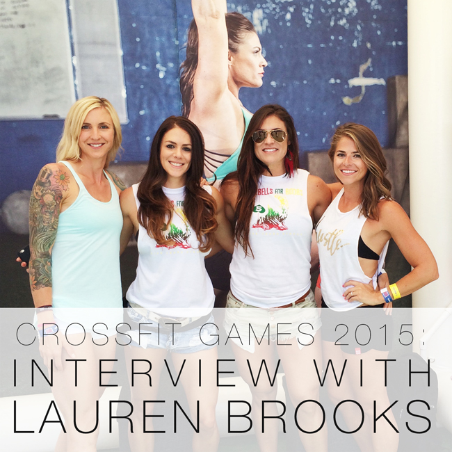 Us with Games athlete Lauren Brooks and the founder of Exo Sleeve, Sloane.