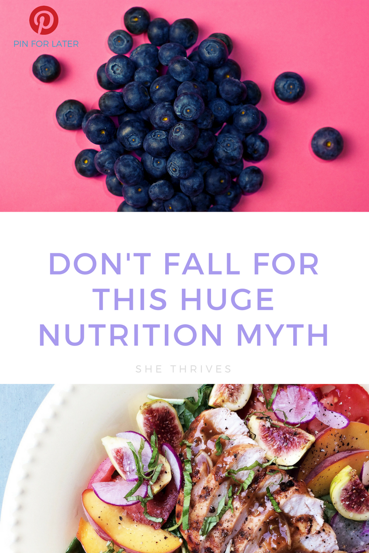 Don't fall for this HUGE nutrition myth