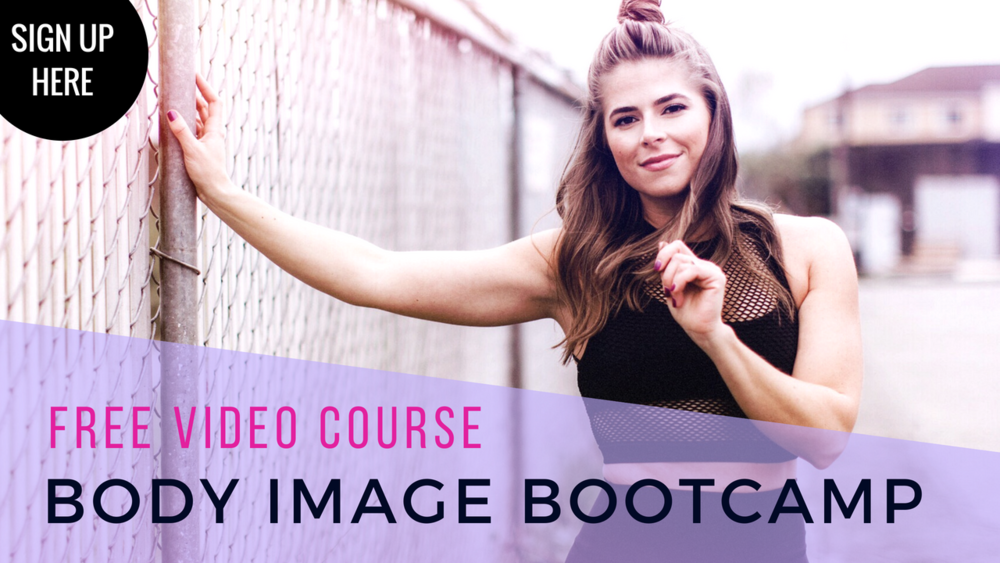 BODY IMAGE BOOTCAMP by She Thrives | A free video mini-training